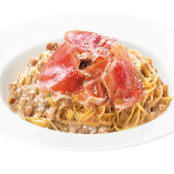 ポルチーニ茸のクリームスパゲッティ