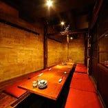 接待や宴会に最適!18名様までの広々個室。