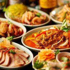 本格タイ料理を味わえるコース
