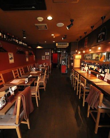 ステーキ&ワイン Bambu[バンブゥ] 久地駅前 店内の画像