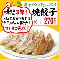 キャベツたっぷり 【焼餃子】