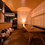 【予約必至】人気のロフト席!8名様まで個室感覚で楽しめる空間