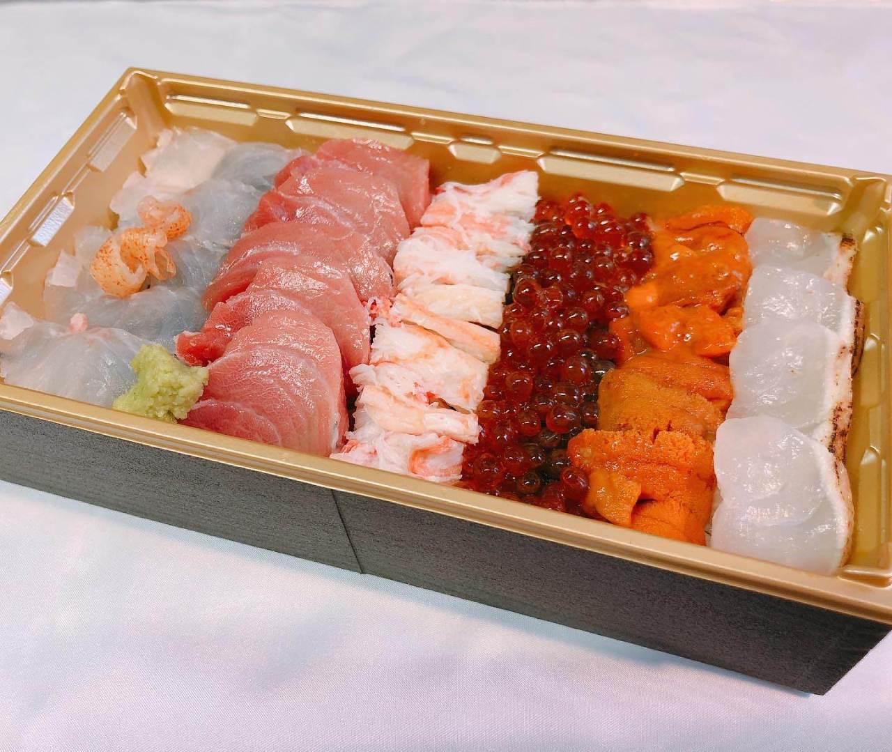 【特上海鮮丼】※ご予約になります。
