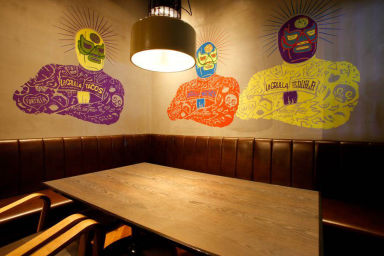 MEXICAN LOUNGE La GRULLA  店内の画像