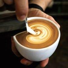 カフェラテでほっこり温まる