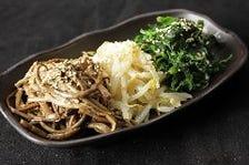 ■新鮮野菜使用のナムルやサンチュ