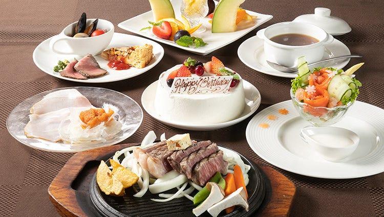 【お祝いに最適!】メッセージ付デザートで祝う『アニバーサリーコース 』ヘレとサーロインの贅沢な饗宴