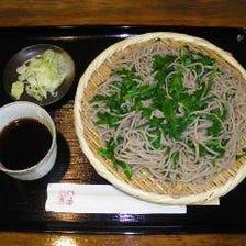 栃木県産のそば粉とにらを使う!