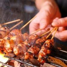 店長イチオシ『国産鶏串焼き』