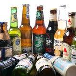 世界のビールを味わえますよ!まだ飲んだことのないビールは是非チェック☆