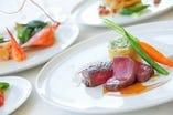 県産食材を使用した料理で、 特別な日を贅沢にお祝い!!!