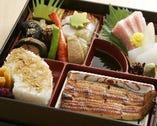 松花堂弁当 ご法事や会議の席などに お弁当を出前いたします