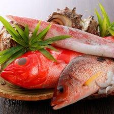 旬の魚料理で、季節を感じて欲しい。
