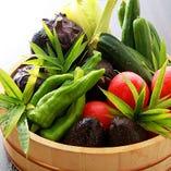 季節の京野菜を使った日替わりメニューも多数ご用意。