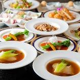 本格中華料理を堪能できるコースを、4,500円~ご用意しています!常連様に人気のお料理や、熟練シェフが腕によりをかけた自慢のお料理など、味・ボリュームともに必ずご満足いただける内容です。