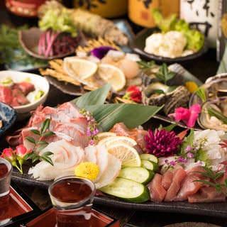 完全個室で鮮魚と和牛 和食処 福家‐FUKUYA‐ 新宿南口店 コースの画像