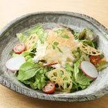 ホタテマヨの大根サラダ