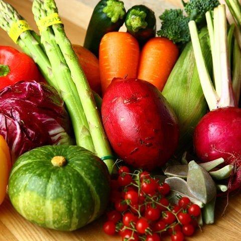 契約農家から直送のこだわり野菜!