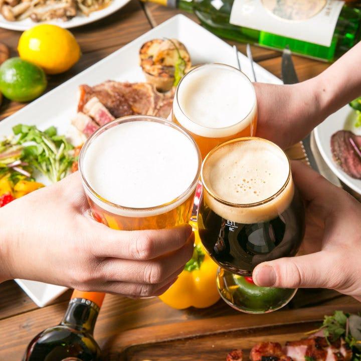 樽生クラフトビールが種類豊富