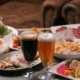 国内&海外のクラフトビールを常時8種類ご用意!