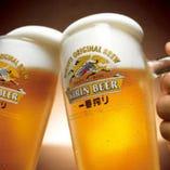 毎週月・火は生ビール&ハイボール半額DAY♪更に10種が追加に♪