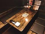 【テーブル個室】カジュアルでもプライベートな空間に