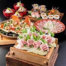 季節の味わい お食事コース6000円~