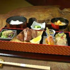 手仕込みの和食料理が味わえる定食