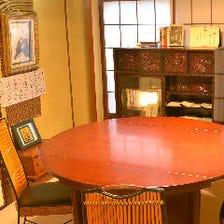 会津の歴史感じる装飾のお座敷個室