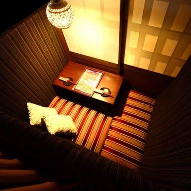 個室で炙り肉寿司を食らう 今昔物語 名古屋栄店 店内の画像