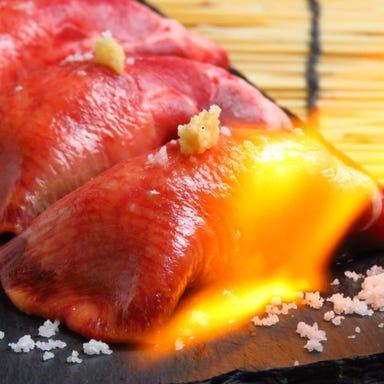 個室で炙り肉寿司を食らう 今昔物語 名古屋栄店 メニューの画像
