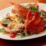 プリプリの海老を使った海老料理が自慢のお店!