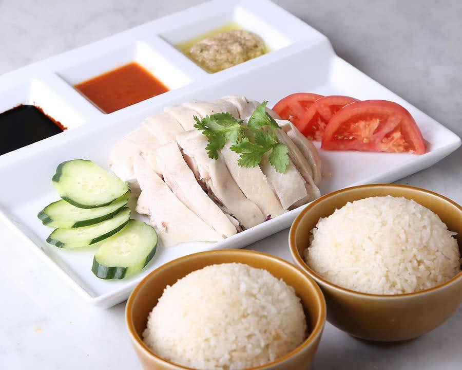 シンガポールといえばやっぱりこれ!! 海南鶏飯