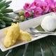 【ピサンゴレン】揚げバナナのココナッツ添え