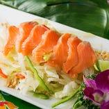 シンガポール風刺身サラダ