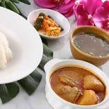 シンガポールチキンカレー飯