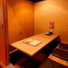 【個室完備】プライベートな空間♪