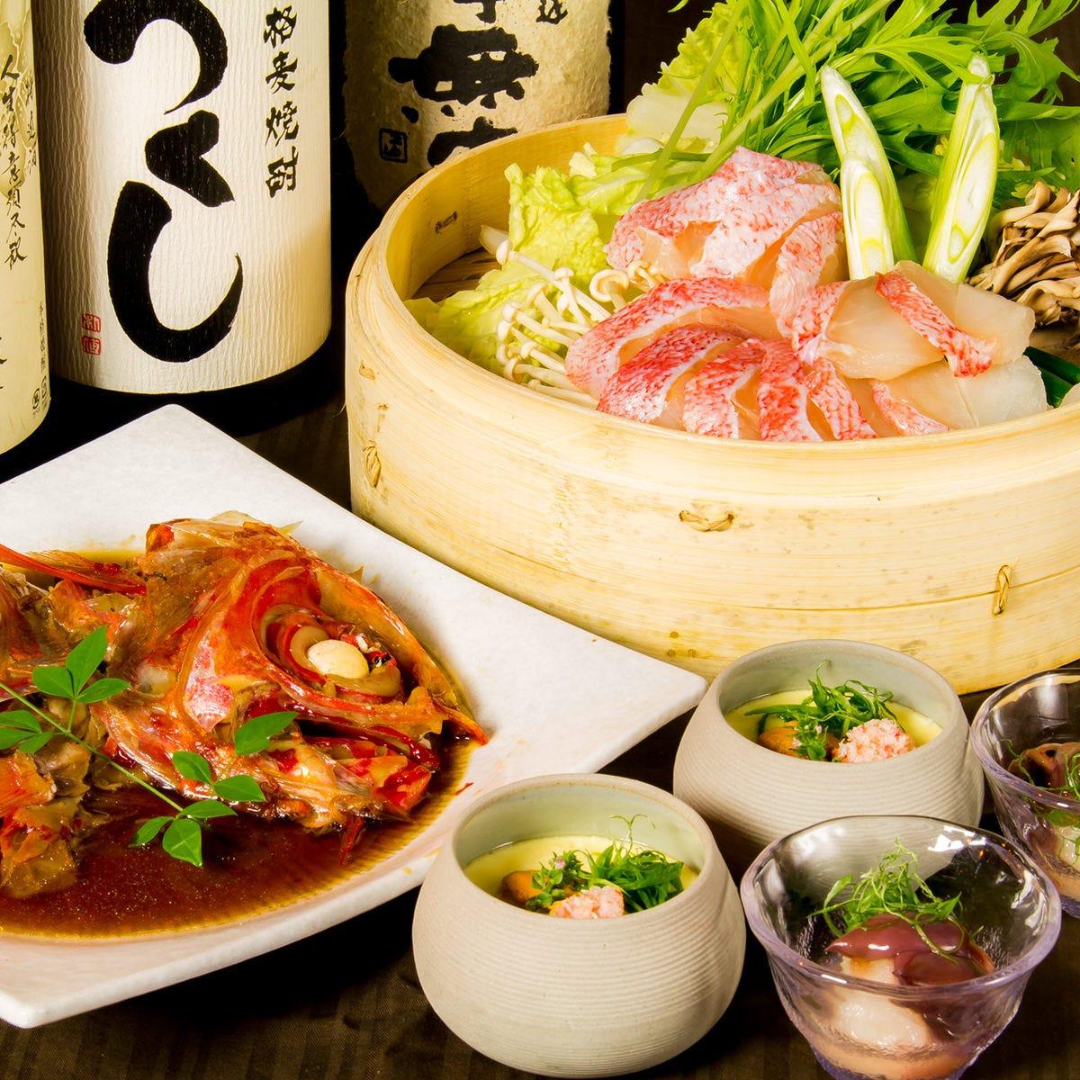 赤坂で新鮮魚を使用した絶品創作料理をお楽しみ下さい!