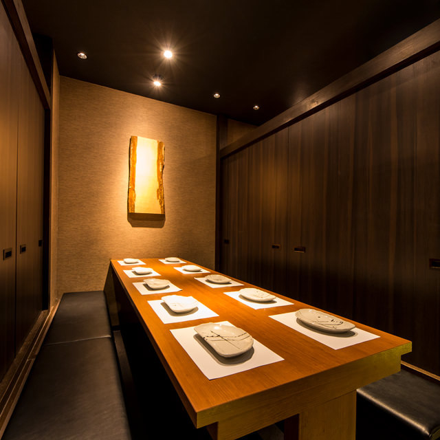 赤坂宴会♪風情漂う多彩な完全個室!