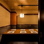 ◆プライベート個室◆女子会や小宴会にも◎和のデザイナーズ空間