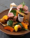 【焼物】牛ロース肉と牛ヒレ肉wのステーキ