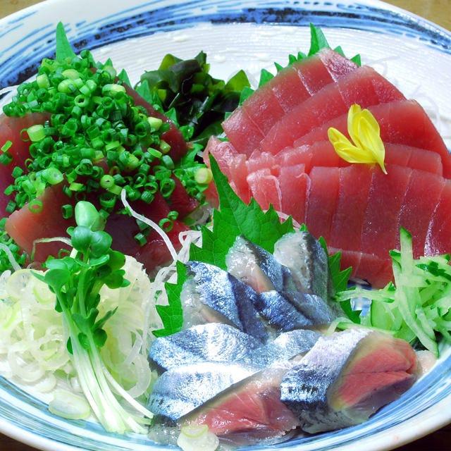 鮮魚にこだわる!豊富な新鮮魚介料理