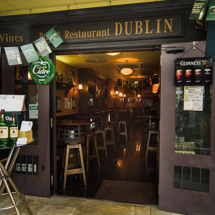 アイルランドの酒場のイメージを 忠実に再現したお店です