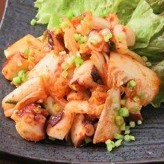 海鮮キムチ炒め