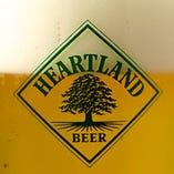生ビールはキリンのハートランド