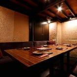 テーブル席個室(8~12名様)