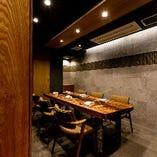 大事なご宴席や接待・会食にもおすすめの個室席(3名様~6名様)