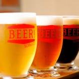 全8種!クラフトドイツビールの飲み比べも楽しい♪