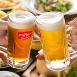 """ビールと""""ドイツめし""""を楽しむご宴会やパーティー、女子会などにオススメです!"""