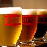 お好きな3種類のビールを飲み比べできるセットもご用意!